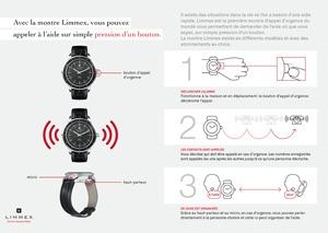 Souhaitez-vous découvrir en trois étapes comme les montres d'appel d'urgence Limmex fonctionnent?