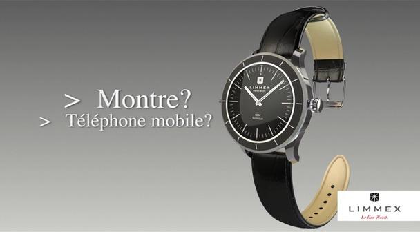 Grâce à la montre d'appel d'urgence Limmex, vous sollicitez de l'aide par téléphone sur simple pression d'un bouton.
